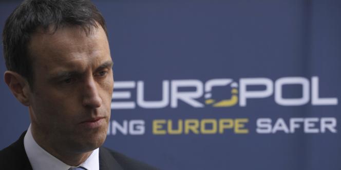 Rob Wainwright, directeur de l'office européen de police, le 16 mars à La Haye.