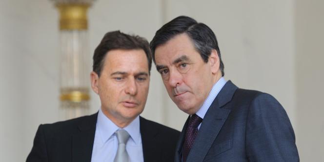 François Fillon et Eric Besson, le 16 mars.