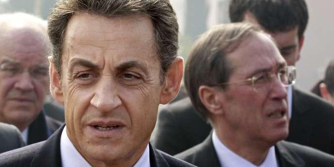 Nicolas Sarkozy et Claude Guéant, le 17 mars.