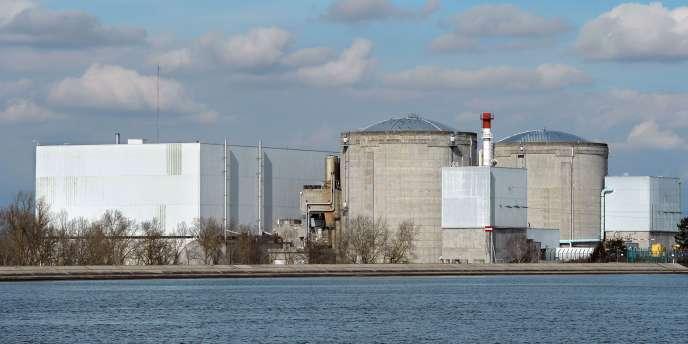La centrale de Fessenheim est la plus ancienne du parc nucléaire français.