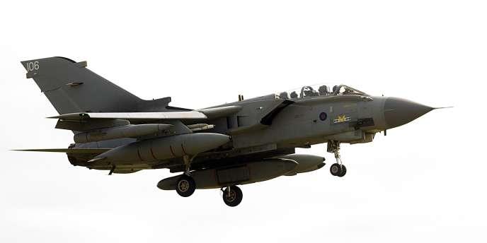 Un Tornado de la British Royal Air Force.
