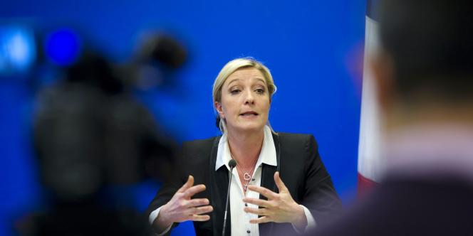 Réagissant aux accusations d'antisémitisme de certains membres de son parti, Mme Le Pen estime que