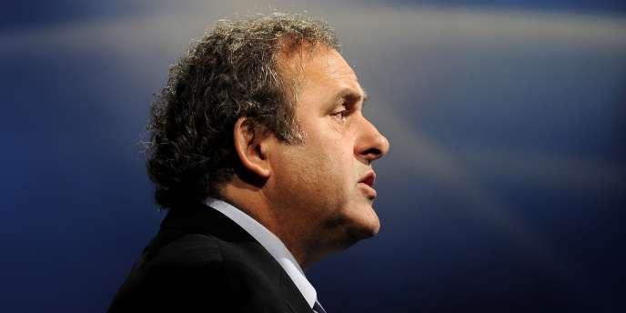 Michel Platini, en 2011, à Nyon.