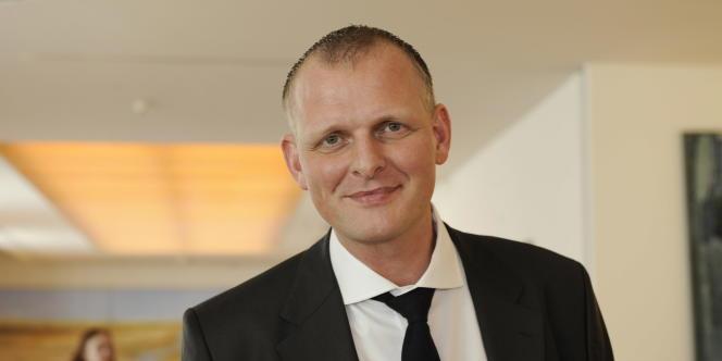 Le metteur en scène allemand Thomas Ostermeier à Berlin, le 16 avril 2010.
