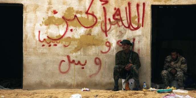 La région d'Al-Jabal Al-Gharbi a été particulièrement touchée par les bombardements lundi.
