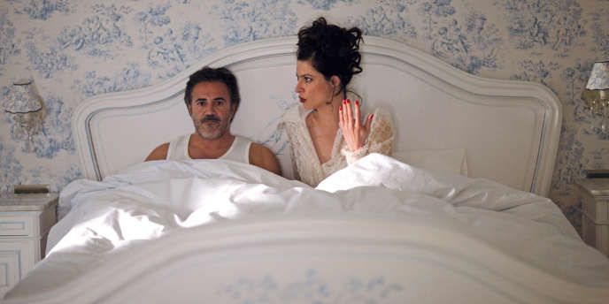 José Garcia et Anna Mouglalis dans le film français de Samuel Benchetrit,