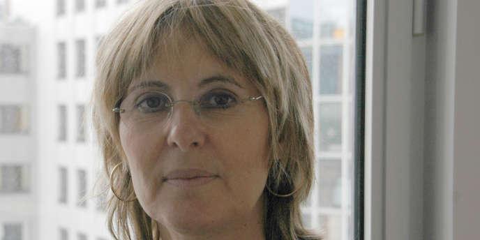 Marie-Claire Cailletaud, dirigeante de la CGT-Energie.