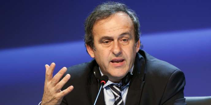 Michel Platini, le 25 mars, à Tel Aviv.