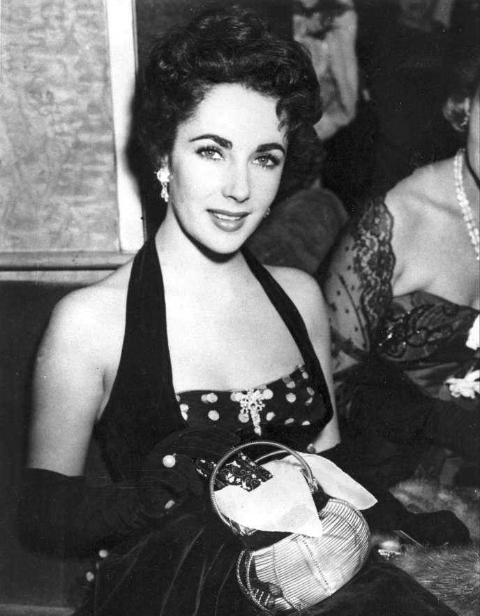 Elizabeth Taylor en 1951.