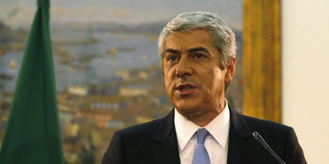 Le premier ministre démissionnaire, José Socrates, a chuté après le refus du Parlement d'adopter le plan d'austérité.