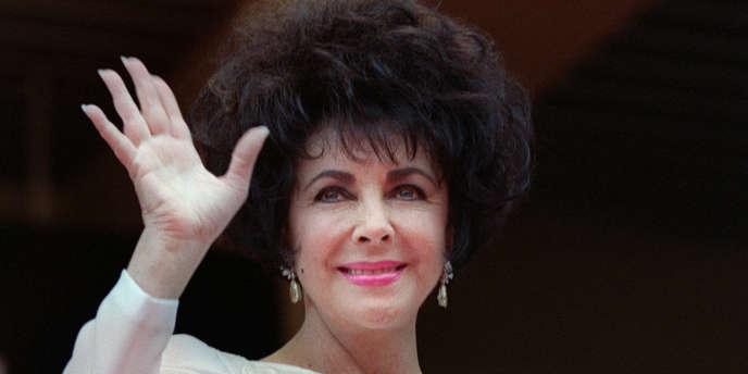 Elizabeth Taylor en 1993.