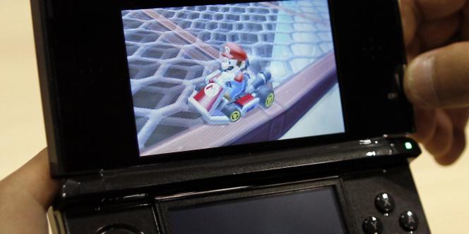 La nouvelle console portable de Nintendo, la 3DS.