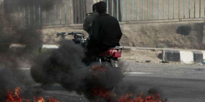 A Deraa, le 23 mars 2011, une semaine après le début des manifestations
