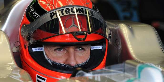 Schumacher veut montrer en 2011 une meilleure image que l'année précédente.