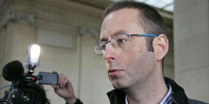 Christophe Grébert en 2006, lors d'une attaque en diffamation concernant son blog MonPuteaux.com