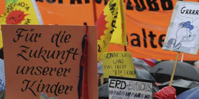 A Munich, l'une des quatre grandes villes dans lesquelles les Allemands ont défilé.