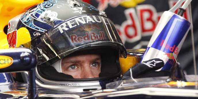 Sebastian Vettel, le 26 mars, à Melbourne.