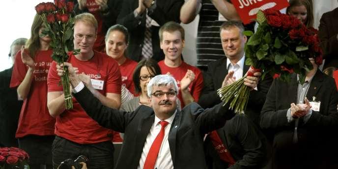 Comme pour l'élection du pape, le choix de Håkan Juholt s'est fait dans le plus grand secret.