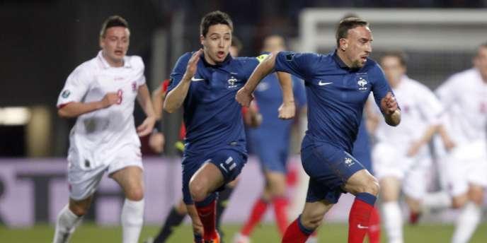 Nasri et Ribéry ont de grandes chances de jouer face à la Croatie mardi au Stade de France.