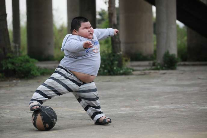 Les jeunes chinois sont également touchés par les problèmes d'obésité.