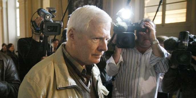 André Bamberski, le 29 mars 2011, au palais de justice de Paris.