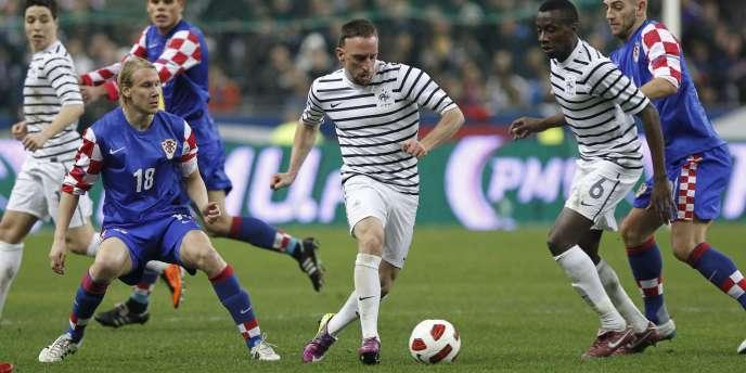 Ribéry et les Bleus se classent 17e au classement FIFA.
