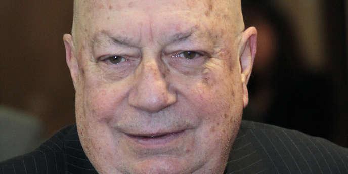 Hervé Bourges, le 27 janvier 2010.