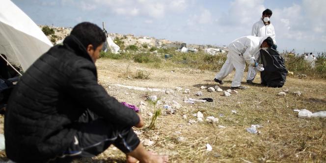 Jusqu'à présent, c'est l'île italienne de Lampedusa qui constitue le point d'entrée des migrants en Europe.