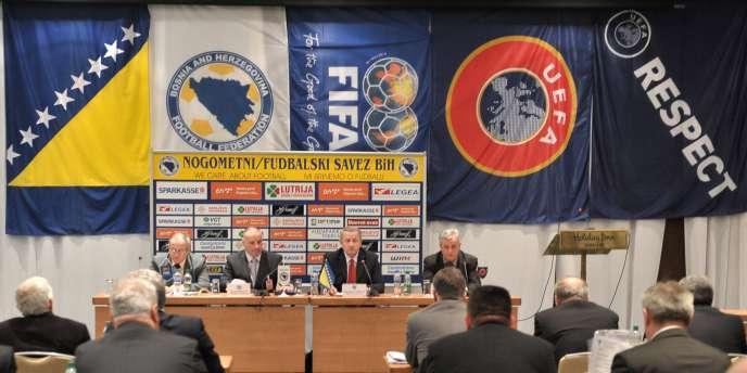 Réunion de la Fédération de Bosnie, le 29 mars.