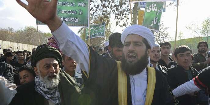 A Kaboul, la manifestation s'est dispersée sans incident.