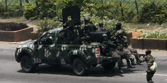 Les tirs les plus nourris ont lieu près du palais présidentiel.