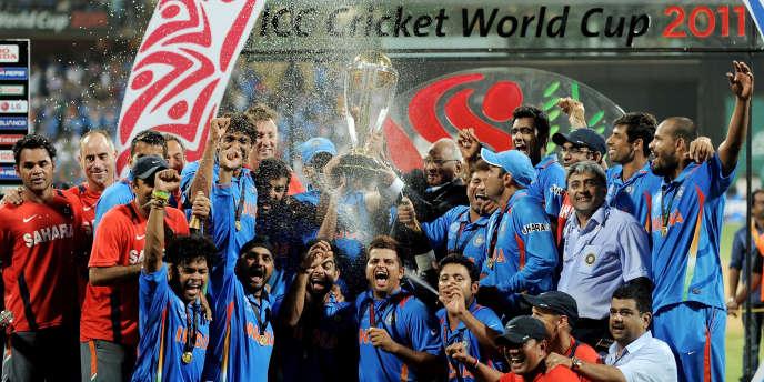 L'Inde est champion du monde de cricket 2011.