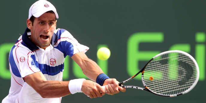 Novak Djokovic à Miami le 1er avril.