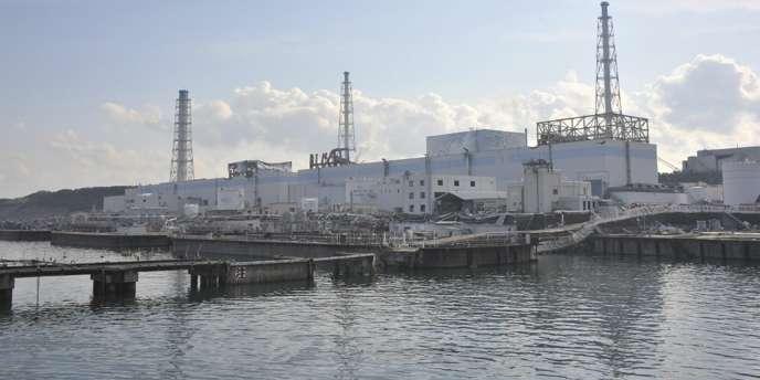Vue générale de la centrale de Fukushima Dai-Ichi, le 31 mars.
