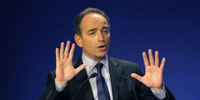 Le secrétaire général de l'UMP, Jean-François Copé, le 5 avril 2011 à Paris.