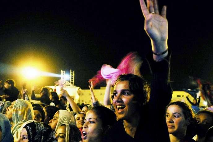 Tous les ans, le festival de Dakhla combine musique et sports nautiques.
