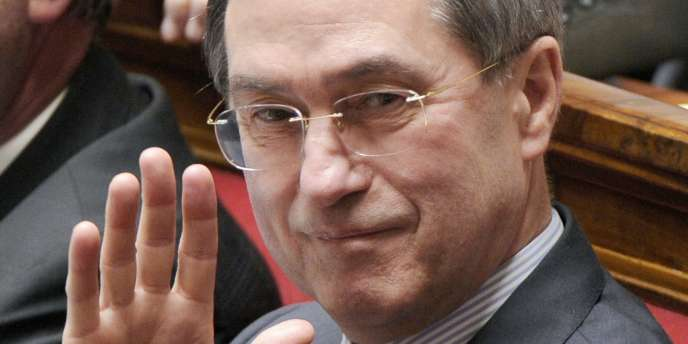 Claude Guéant à l'Assemblée nationale en avril 2010.