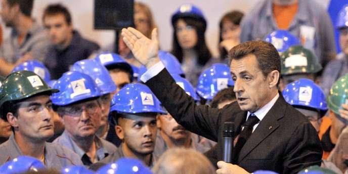 Nicolas Sarkozy a pris le temps de le critiquer, jeudi 7 avril, lors d'un déplacement dans le Puy-de-Dôme.