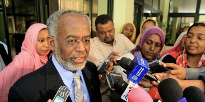 Le ministre des affaires étrangères soudanais, Ali Ahmad Karti, s'exprime sur l'attaque qui a fait deux morts mardi.