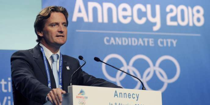 Charles Beigbeder,  le 8 février 2011 à Annecy.