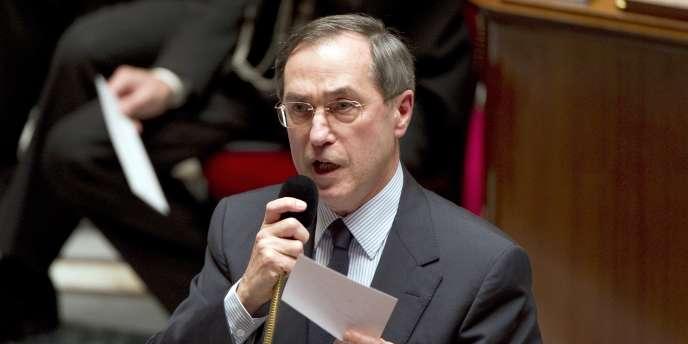 Claude Guéant, le 5 avril 2010 à l'Assemblée nationale.