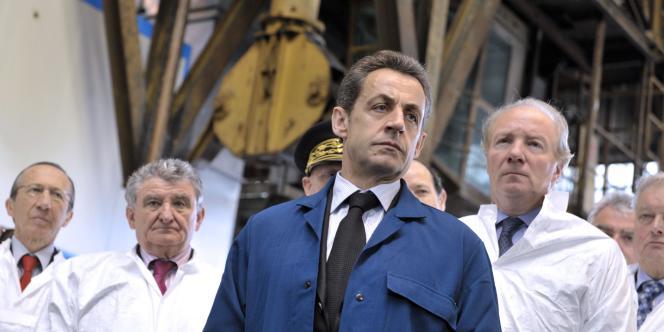 Nicolas Sarkozy avait estimé, en mars, que la faible évolution des salaires comparée aux montants importants des dividendes versés par les entreprises à leurs actionnaires n'était