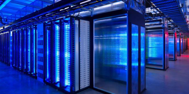 Un centre de données de Facebook.