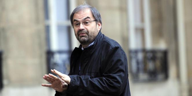 François Chérèque, alors leader de la CFDT, le 6 janvier 2011 à l'Elysée.