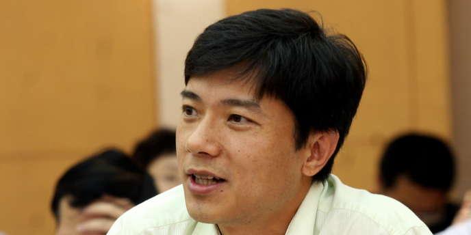 Robin Li, le PDG du moteur de recherche chinois Baidu, en 2009.
