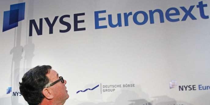 La Commission européenne a interdit la fusion géante des Bourses NYSE Euronext et Deutsche Börse.