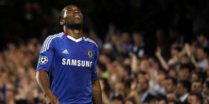 Didier Drogba, le 6 avril, à Stamford Bridge.