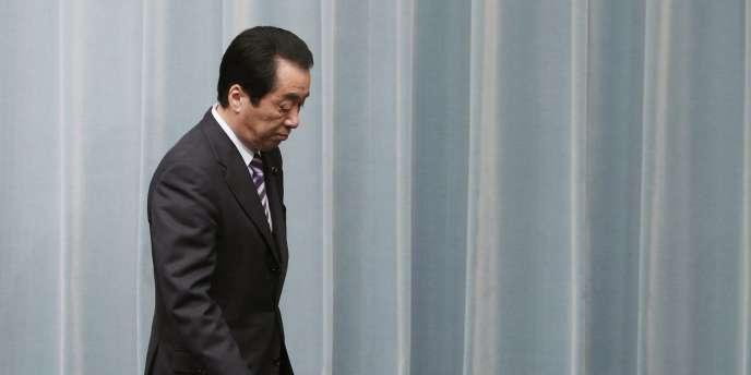 Le premier ministre du Japon, Naoto Kan, le 12 avril.