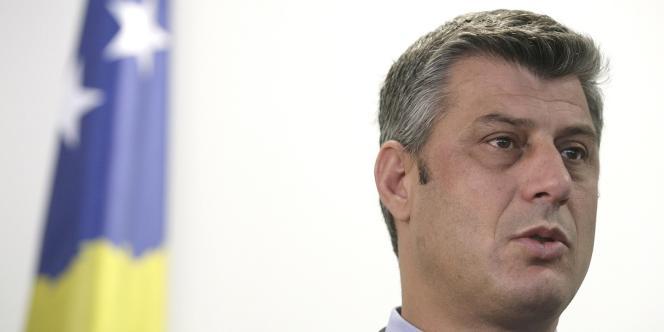 Le premier ministre kosovar Hashim Thaci.