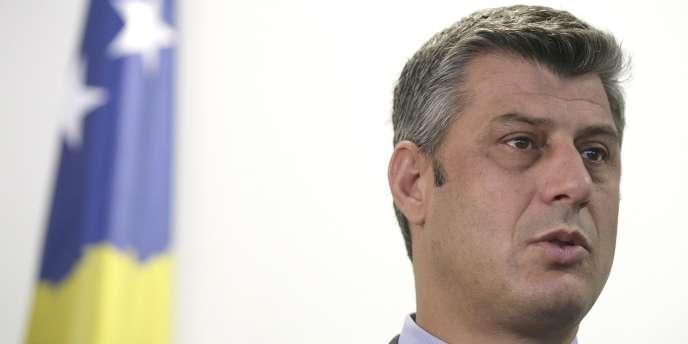 Le premier ministre du Kosovo, Hashim Thaçi, en septembre 2008.